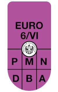 Environmental Badge Europe Green Sticker
